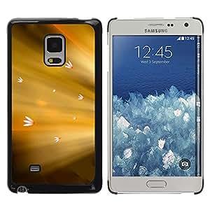 Racing Hacia El Sol - Metal de aluminio y de plástico duro Caja del teléfono - Negro - Samsung Galaxy Mega 5.8