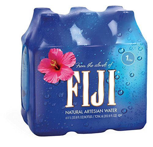 FIJI Natural Artesian Water, 33.8 Fl Oz (Pack of 6)