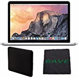 "Apple 13.3"" MacBook Pro MF839LL/A Notebook Computer with Retina Display + Padded Case For Macbook + MicroFiber Cloth Bundle"