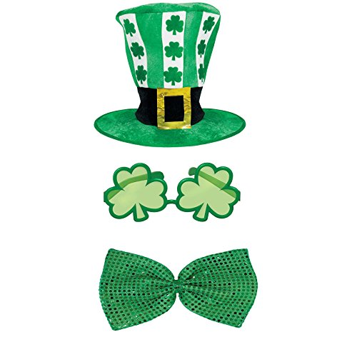St Patricks Day Hat and Tie Costume Accessory