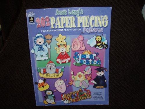 Annie Lang's 202 paper piecing patterns