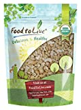 Organic Cashew Pieces, 1 Pound - Non-GMO, Kosher, Raw, Vegan, Unsalted, Unroasted, Bulk - by Food to Live