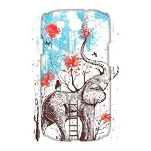 Elephant Brand New 3D Cover Case for Samsung Galaxy S3 I9300,diy case cover ygtg525913