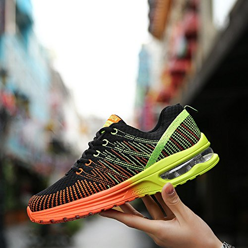 Mujeres Negro Fashion Senderismo Sneakers Air Señoras Net Zapatos Caminar Mesh Shoes De Cushion Running para Zapatos Shoes Impermeables tUwTBqnvw