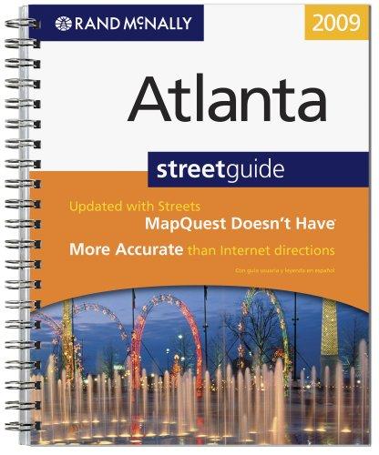 (Rand McNally 2009 Atlanta, Georgia: Street Guide (Rand McNally Atlanta Metro))