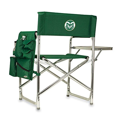 Colorado State Embroidered Sports Chair Hunter Green by Picnic Time
