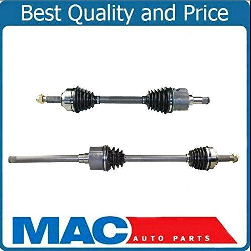 2/ CV Axle Shaft-New Front 4x4 AWD for 04-06 All Wheel Drive Chrysler Pacifica