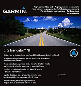 Garmin City Navigator Europe NT - UK/Ireland (010-10691-00) SD  Memory Card (Discontinued by Manufacturer)