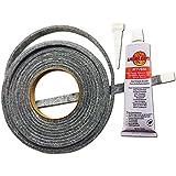 Smoker Sealer High Temp BBQ gasket & adhesive smoker lid door tape GL-1/2 & LL3R