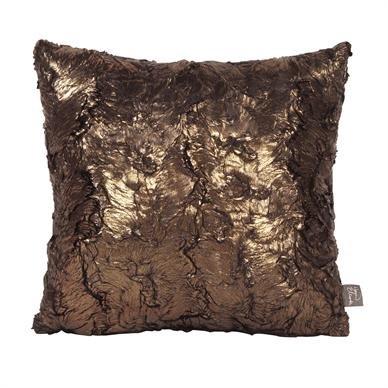 Howard Elliott 1-295 Pillow, 16 x 16-Inch, Gold Cougar
