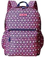 Vera Bradley Women's Lighten Up Grande Backpack Katalina Pink Diamonds Backpack