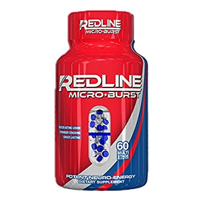 VPX Redline Microburst Multi-Stage Delivery System Thermogenic Fat Burner