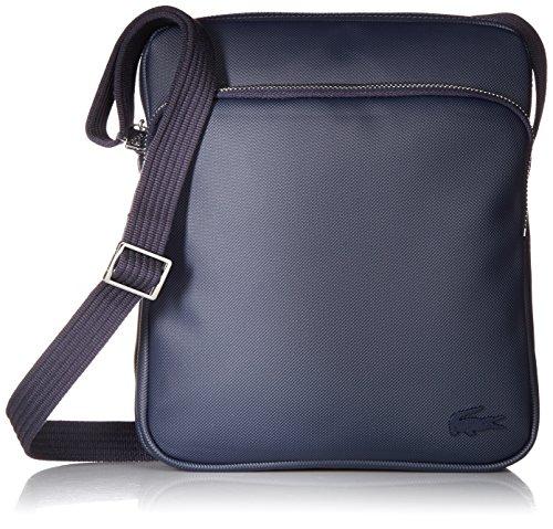 Lacoste Men's Classic Petit Pique Double Bag, Peacoat, One ()