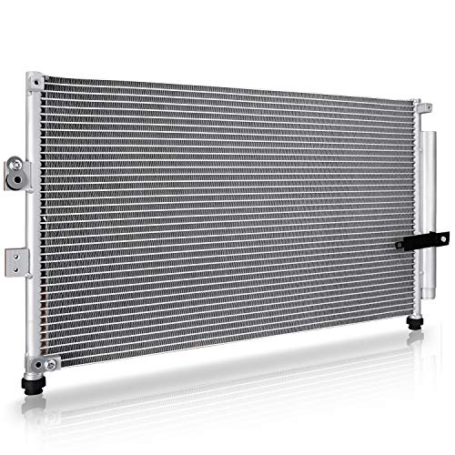 A/C Condenser with Dryer for 2006-2011 Honda Civic Sedan 4-Door (1.3L/1.8L/2.0L-L4) (Honda Civic Ac Condenser)