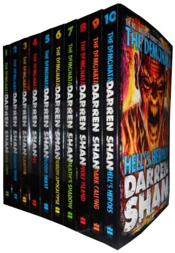 Darren Shan Demonata Collection Set Pack, 10 Books Set, (Bec, Blood Beast, Dark Calling, Death's Shadow, Demon Apocalypse, Demon Thief, Hell's Heroes, Lord Loss, Slawter, Wolf Island)