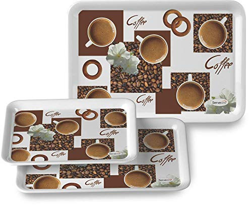 3 pc Comfort Tray Set – Coffe Break