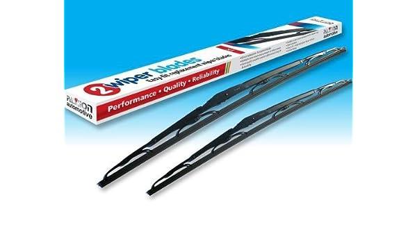 RENAULT CLIO 98-05 REPUESTO escobillas / limpiaparabrisas - Par de: Amazon.es: Coche y moto