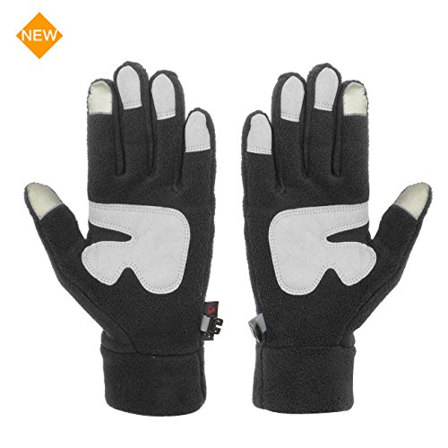 Metog Fleece Running Gloves for Men&Women