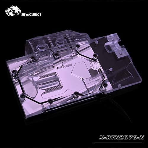Bykski N-RTX2070-X GPU Water Cooling Block for Founders RTX 2070 5v RGB