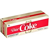 Caffeine Free Diet Coke Fridge Pack Cans, 12 fl oz (Pack of 12)
