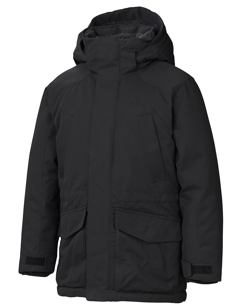 Marmot Kids Boy's Boy's Bridgeport Jacket (Little Kids/Big Kids) Black X-Large by Marmot