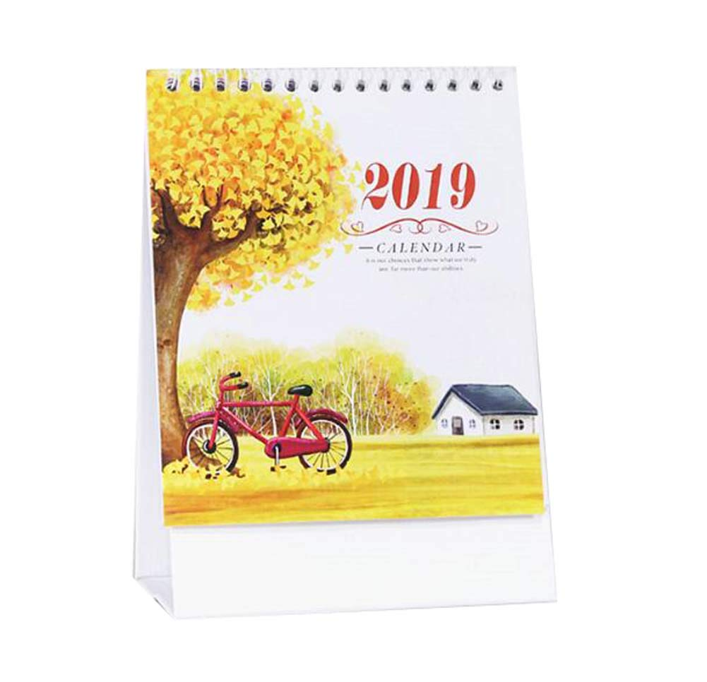 Monthly/Daily Schedule Notebook,2018-2019 Office/Home/School Calendar,C01