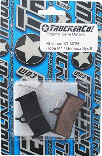 M755 Disc Brake Pads - Organic Semi Metallic Disc Brake Pads Fits Shimano XT BR Models: XT M755, M04, Hope Mono M4, Hope Tech M4, V4, Grimeca System 8, Cleg DH, sram 9.0