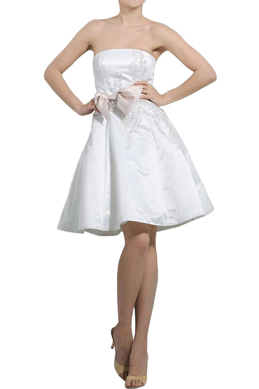 Milano Bride Attrative Traegerlos Promkleid Brautjungfernkleider A ...