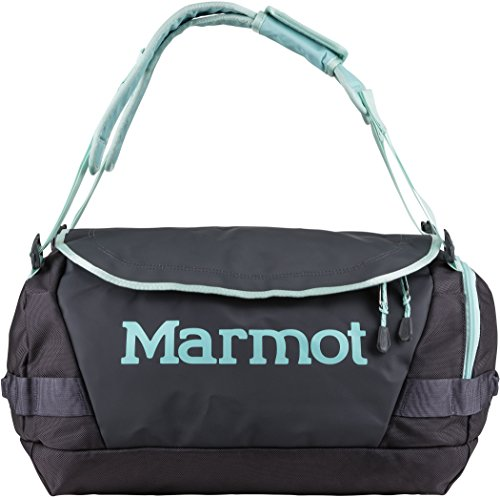 Marmot Long Hauler Duffel Bag, Small, Dark Charcoal/Blue Tint, One Size, 29240-1712-ONE