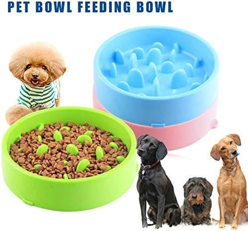 Classicoco Alimentador Lento Cuenco para Perros Diversi/ón Alimentaci/ón Lenta Comidas Antideslizantes para Perros Fuentes para Mascotas