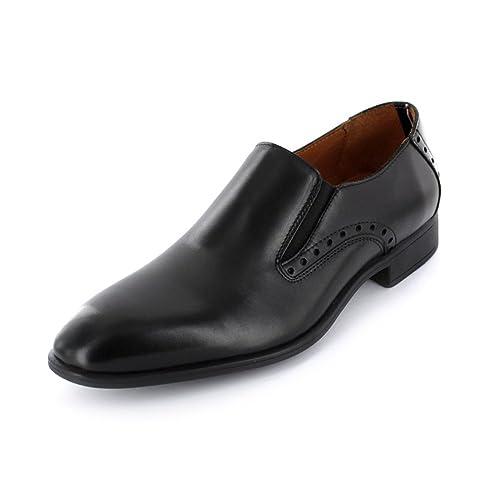 Tommy Hilfiger Fm56821943/990 - Mocasines de Piel para hombre, color negro, talla 45: Amazon.es: Zapatos y complementos