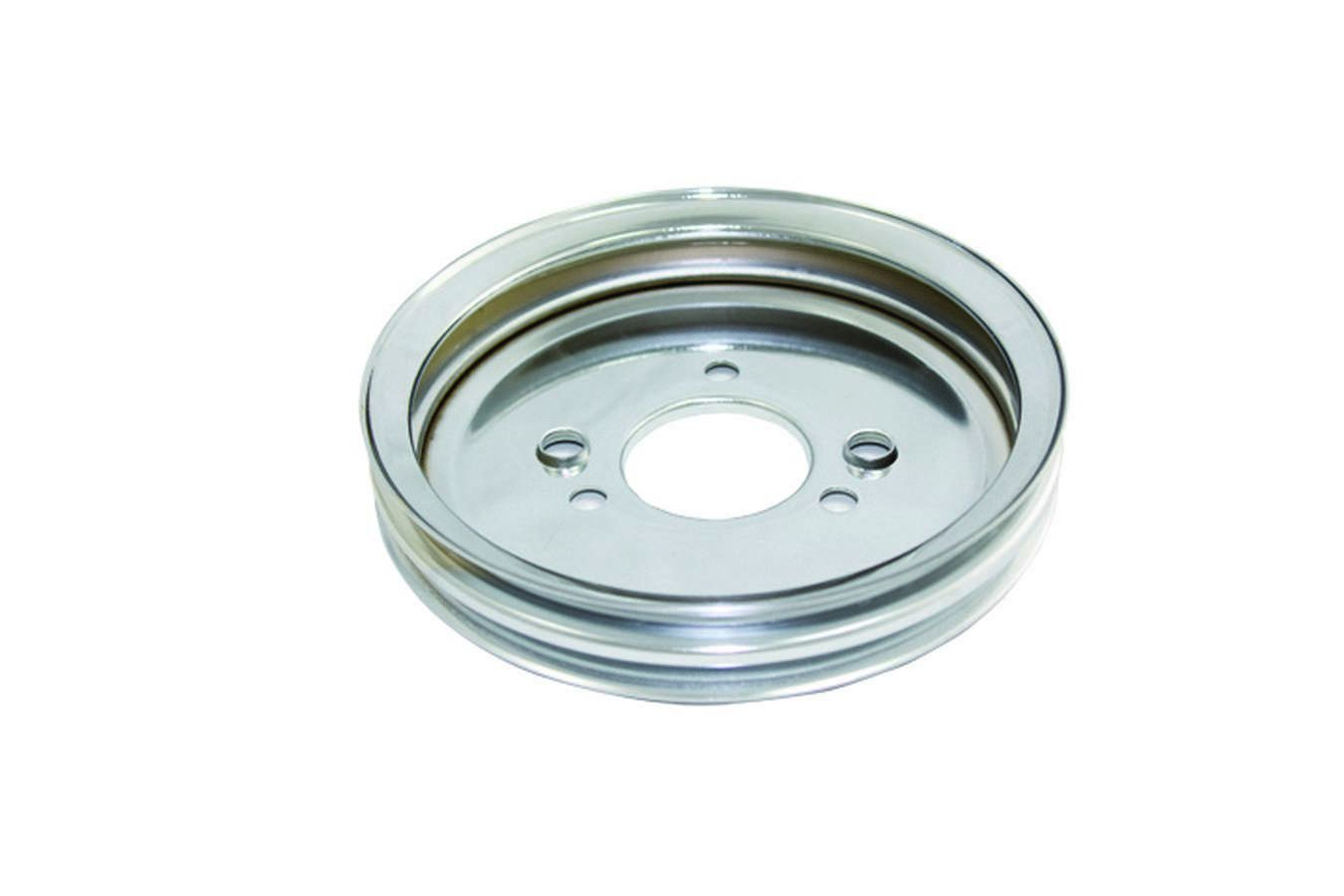 SPC Performance 8965 2 Groove Crank Pulley - Short Pump for Big Block Chevy