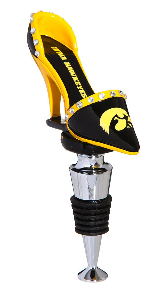 University of Iowa High Heel Shoe Bottle Stopper