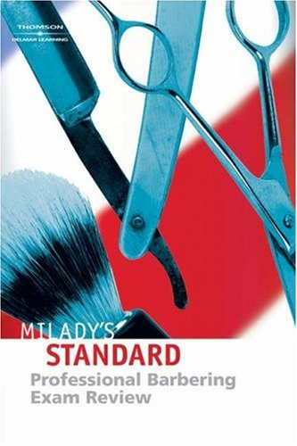 Exam Review for Milady's Standard Professional Barbering from Brand: Milady