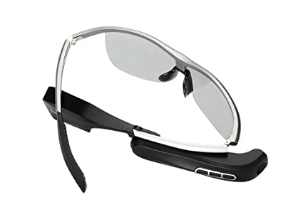 b16661056b8c Amazon.com  Generic Wear Bluetooth Smart Glasses - Bluetooth 4.0 ...