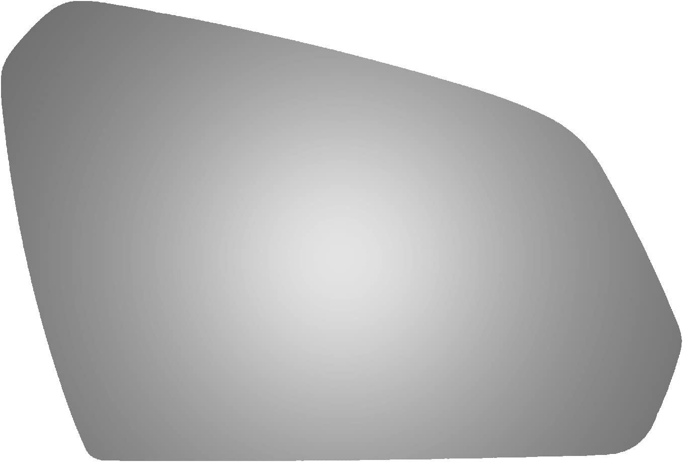 Burco 5620 Convex Passenger Side Power Replacement Mirror Glass (Mount Not Included) for 15-17 Hyundai Sonata (2015, 2016, 2017)