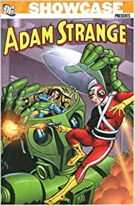 amazoncom showcase presents adam strange 9781401213138