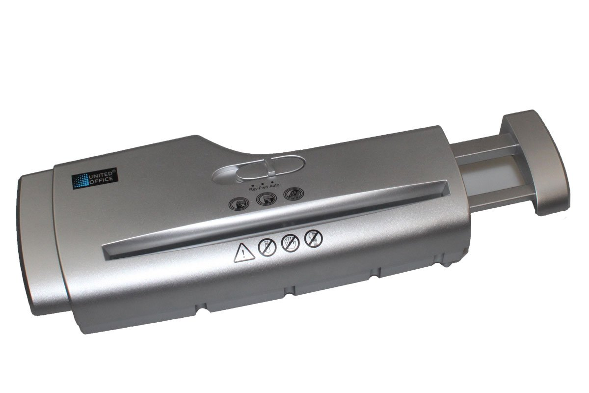 Aktenvernichter Papierkorbaufsatz (Silber) Kompernass GmbH