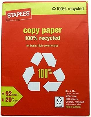 Grapas 100% reciclado Copy Fax láser impresora de inyección ...