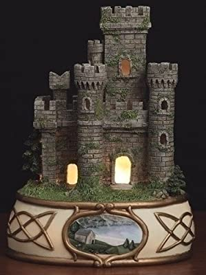 Lighted Irish Castle