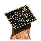 Goal Digger Graduation Grad Cap Decorating Kit, One Size