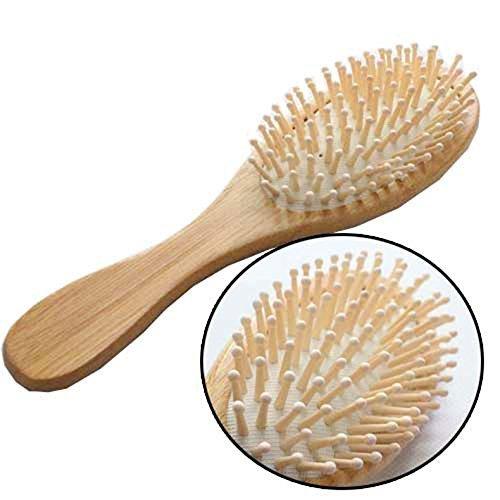 LAAT Brosse à cheveux en Bois Anti-Statique SPA Massage Comb Peigne de Soins