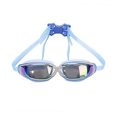 LE Lunettes de natation grande boîte mode confortable étanche brouillard anti-buée HD hommes et femmes adultes universel de natation lunettes de sport équipement