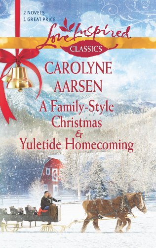 book cover of A Family-Style Christmas / Yuletide Homecoming