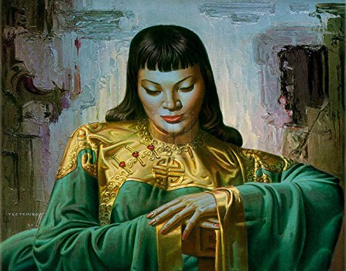(Vladimir Tretchikoff - Lady Of The Orient Gouttelette)