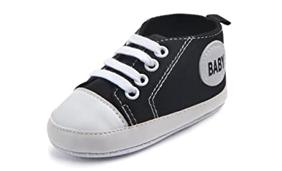 e3a5fed846afd1 WAM Baby Boys Girls Canvas Toddler Sneaker Anti-Slip First Walkers Candy  Shoes 0-
