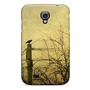 Fashionable Style Case Cover Skin For Galaxy S4- Trees Birds Animals Skyscapes