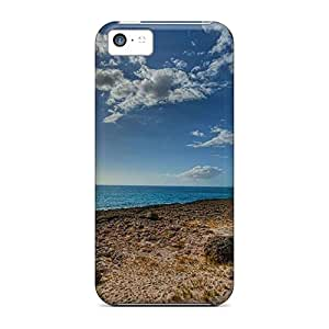 Faddish Phone Waianae Beach Hawaii Island Travel Desktop Case For Iphone 5c / Perfect Case Cover