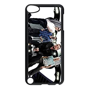 Irish rock band U2 Personalized IPod Touch 5/5G/5th Generation Hard Plastic Shell Case Cover White&Black(HD image)