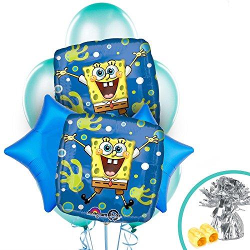 BirthdayExpress Spongebob Balloon Bouquet ()